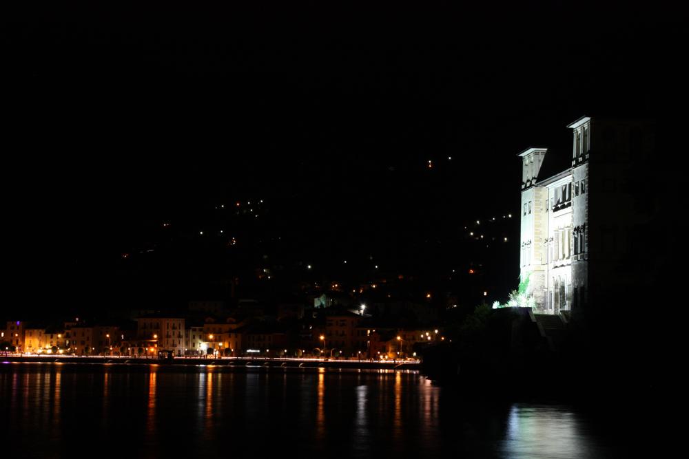 Italien - Gravedona - Lago di Como bei Nacht