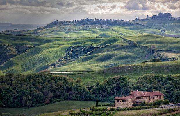Italien liegt in der Toskana