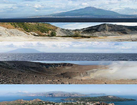 Italien und seine Vulkane