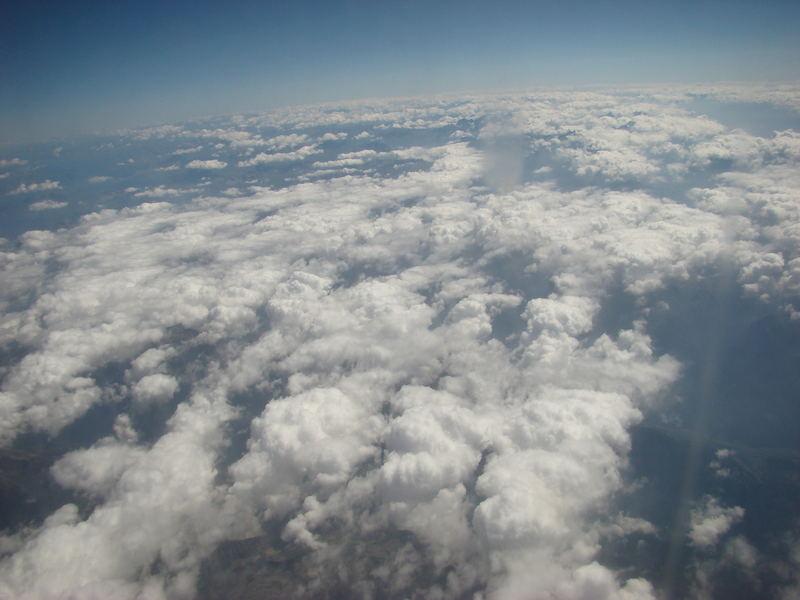 Italien Wolken