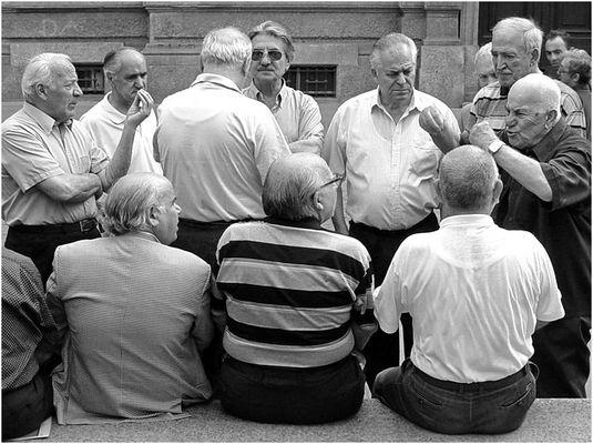 Italienische (Alt)Männergesellschaft