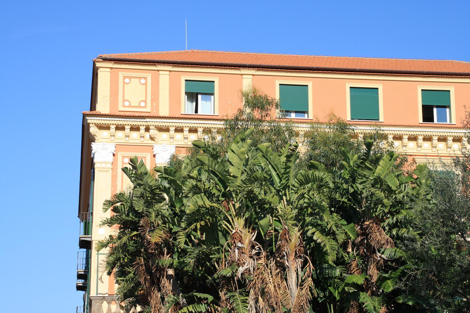 Italienische Fassade