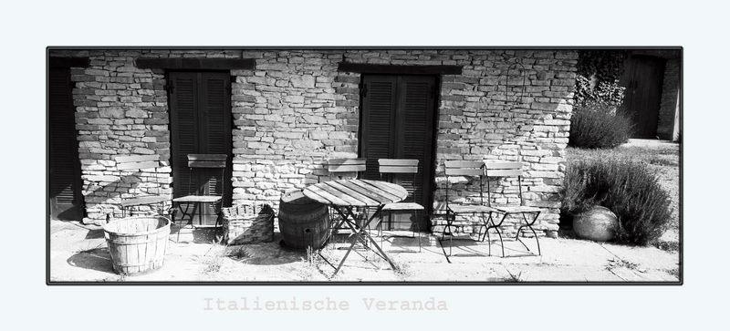 Italienische Veranda
