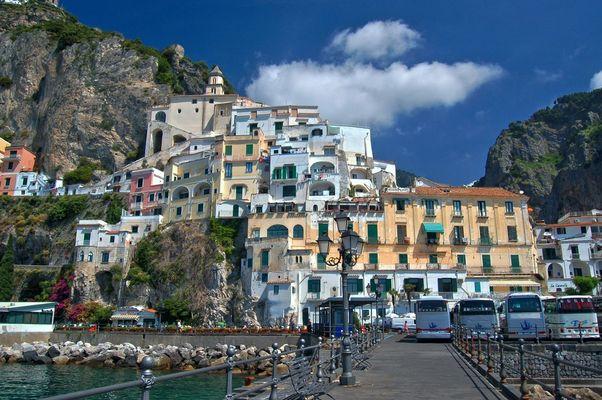 Italienischer Häuserberg