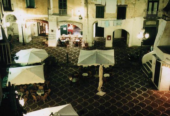 Italienischer Piazza