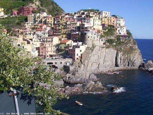 Italienisches Dorf