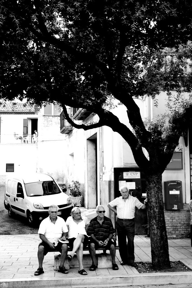 Italiens Rentner