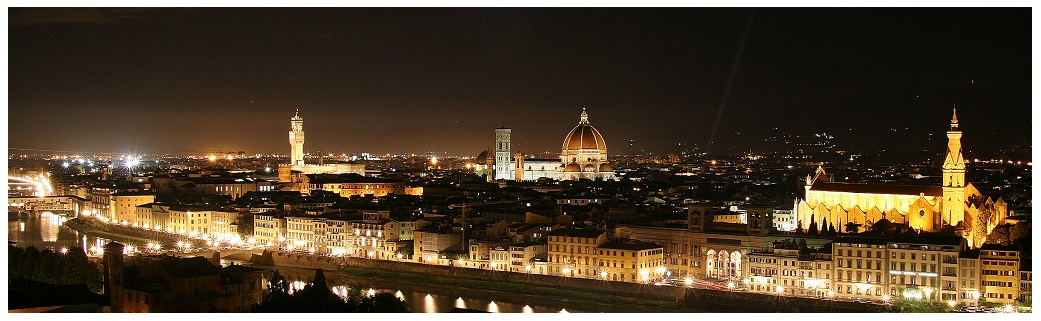 Italy #1 - Florence at night