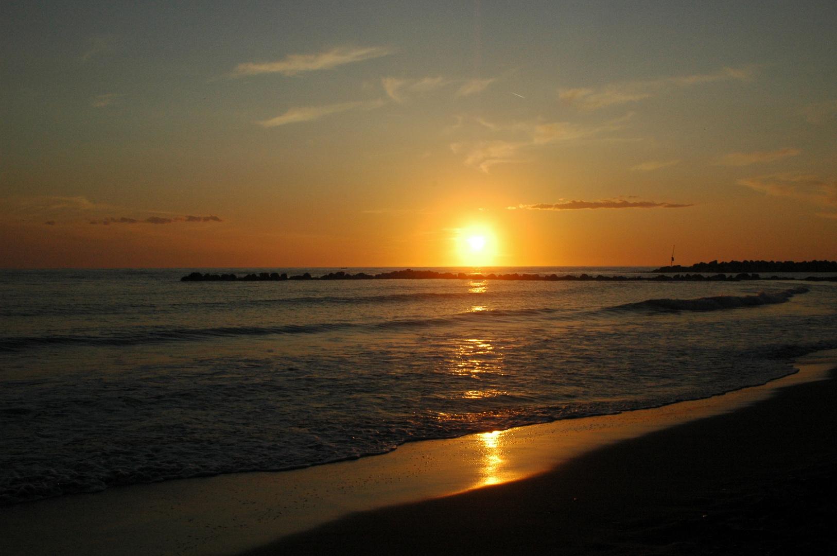 Italy Sonnenuntergang