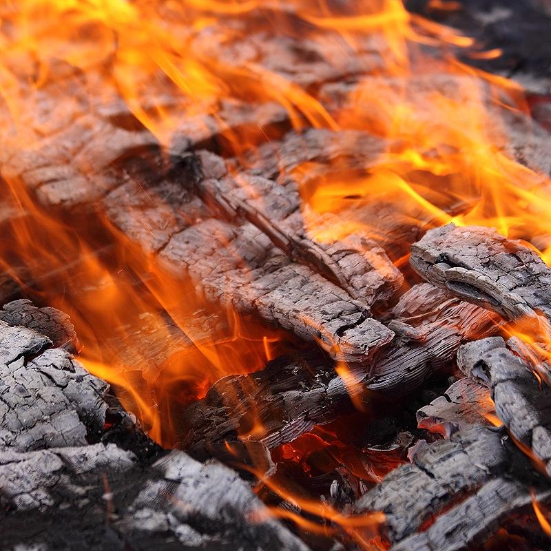 it´s burning