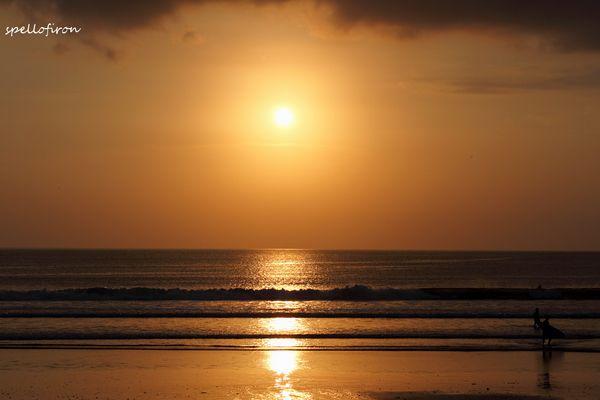 It's Kuta Beach