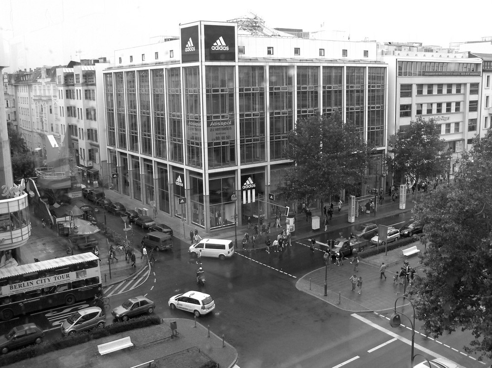 It's raining in Berlin