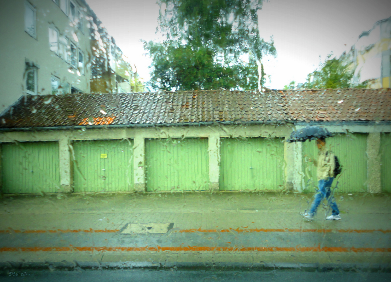 It's raining, man