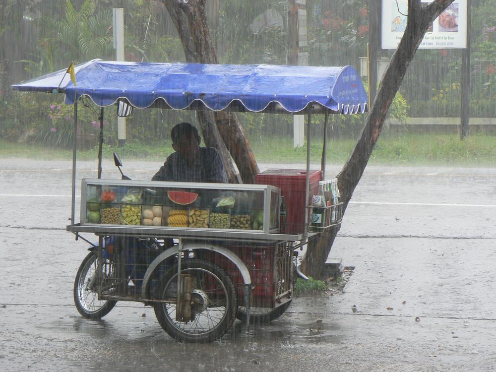 It's raining man!