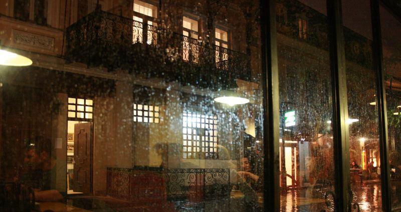 It's raining reflections...