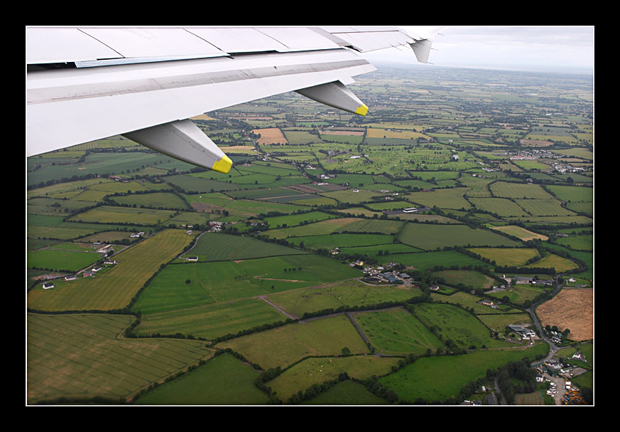 It's sad to leave the Irish island
