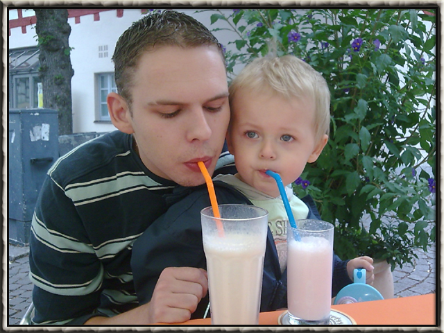 It´s time for milkshake!