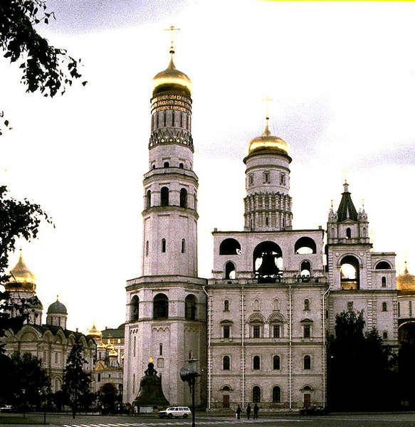 Ivan der Große am Kathedralenplatz des Kreml