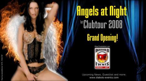 "Iwona als Covergirl zur ""Angels at Night"" Europatour (ENTWURF!) Teil 2"