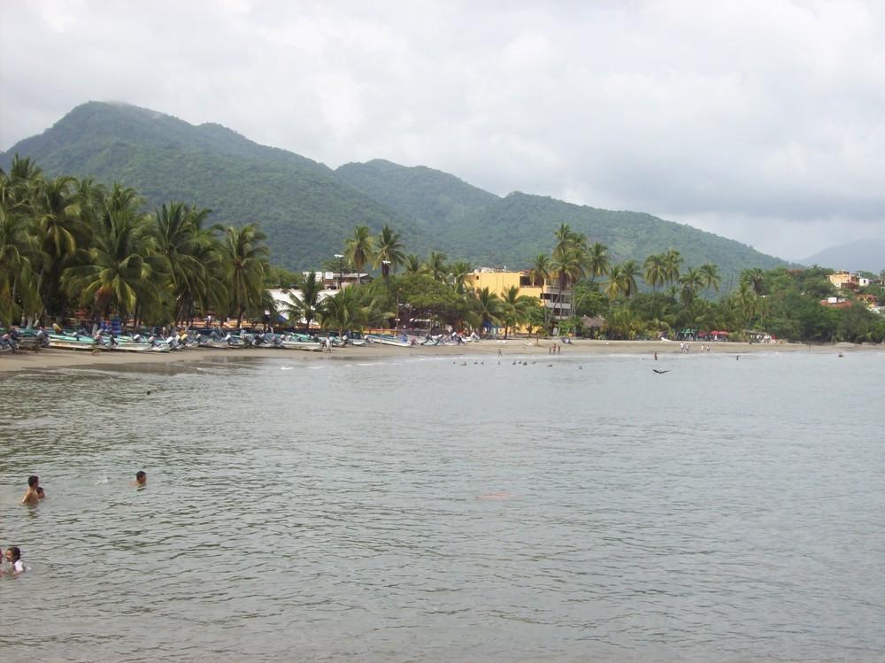 Ixtapa sea