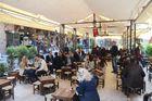 izmir, kemeralti, ältestes kaffeehaus