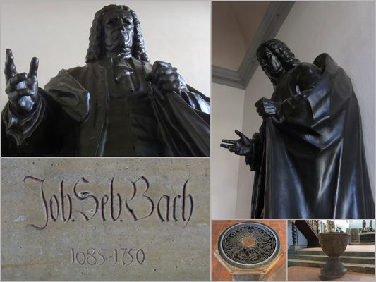 J.-S. Bach in seiner Taufkirche ...