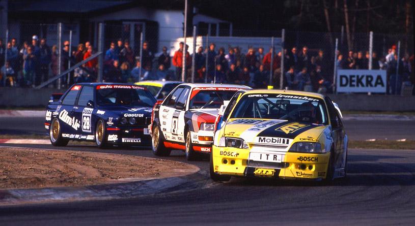 Ja das waren noch Rennen,die gute alte DTM 1991 hier in Zolder/B.mit  Opel,BMW,Mercedes ,Ford Audi