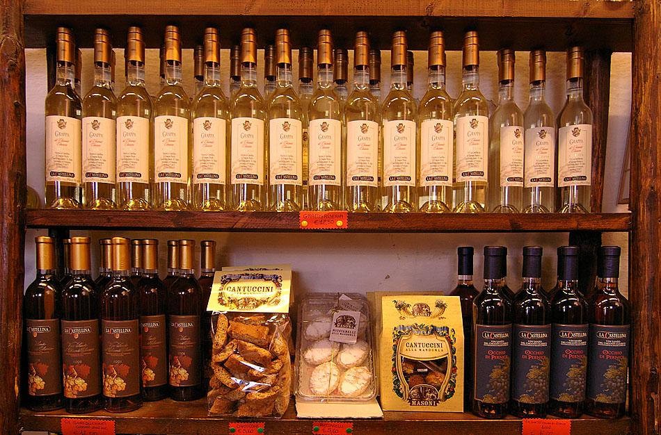 Ja, ja der Chianti-Wein ...