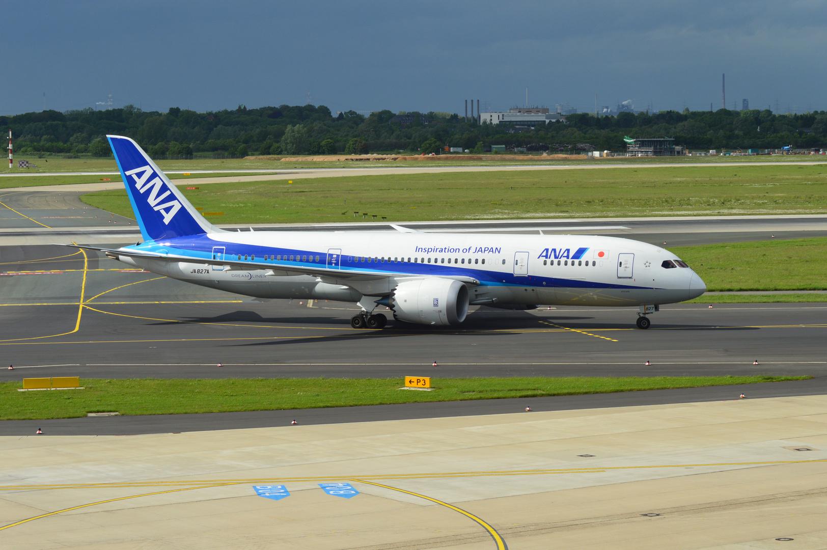 JA827A in Düsseldorf