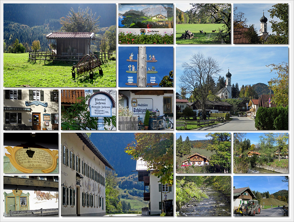 Jachenau, Dorf - Impressionen