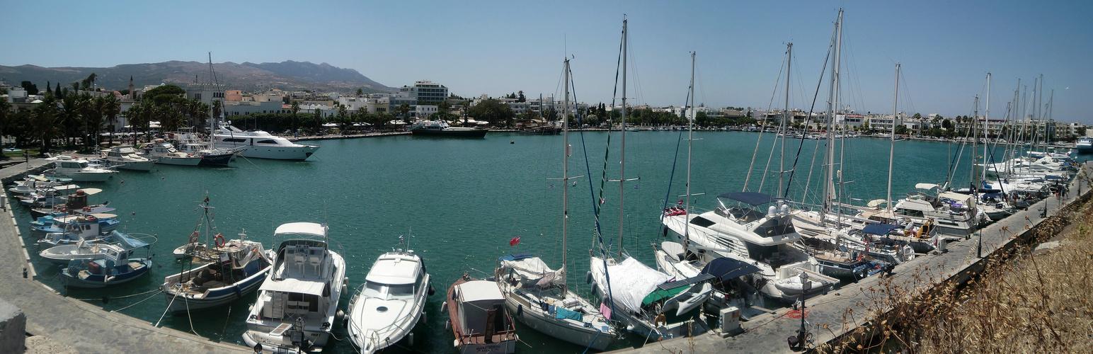 Jachthafen in Kos-Stadt