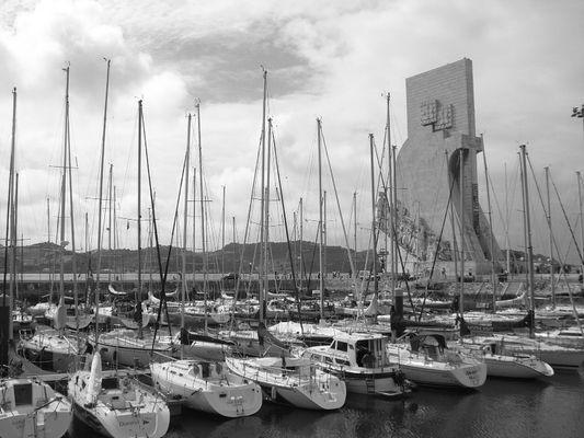 Jachthafen in Lissabon