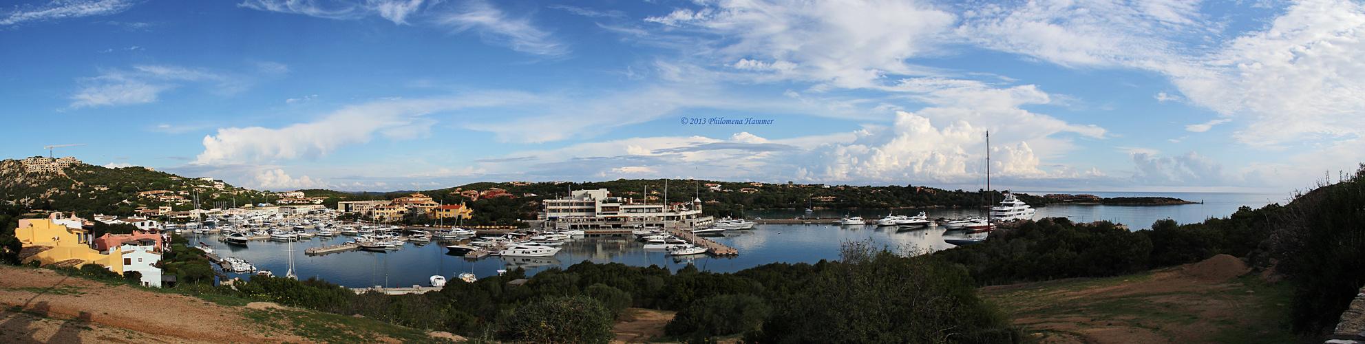 Jachthafen Porto Cervo - 2013 Sardinien