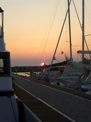 Jachthafen von San Vincenzo