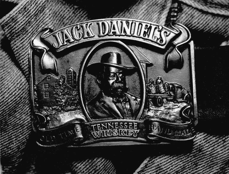 Jack Daniels Gürtelschnalle