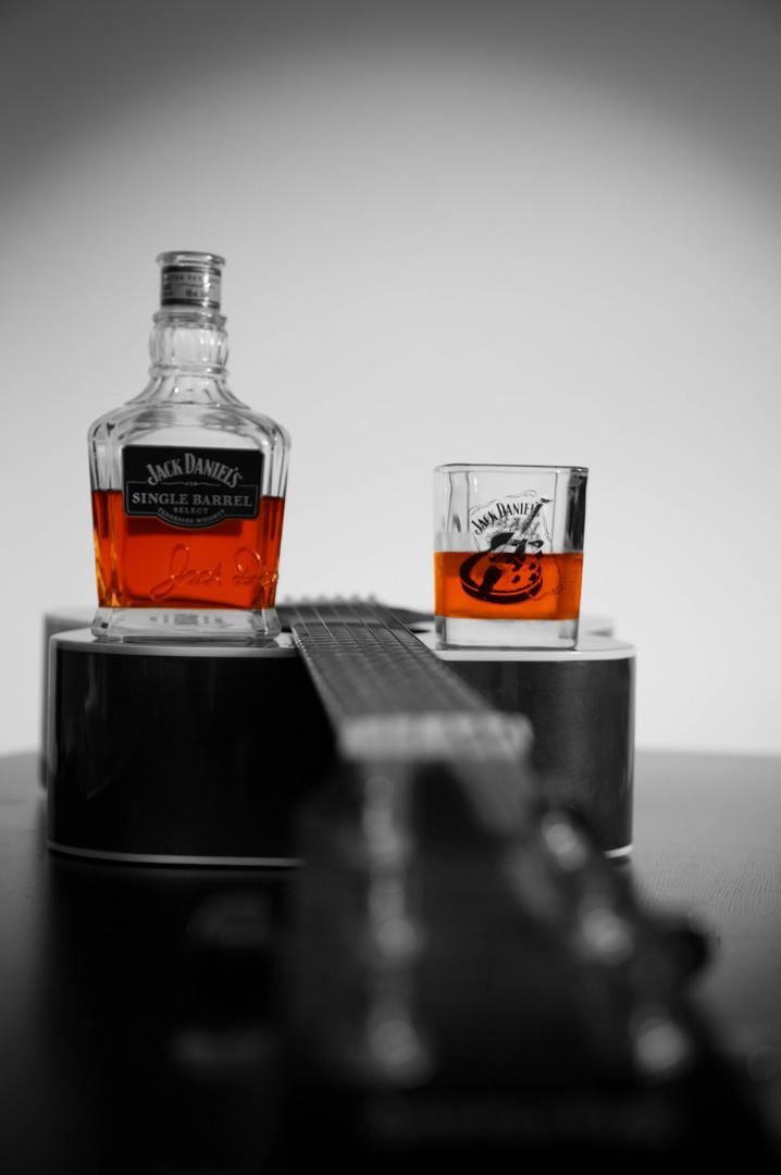 Jack Daniels+Gitarre