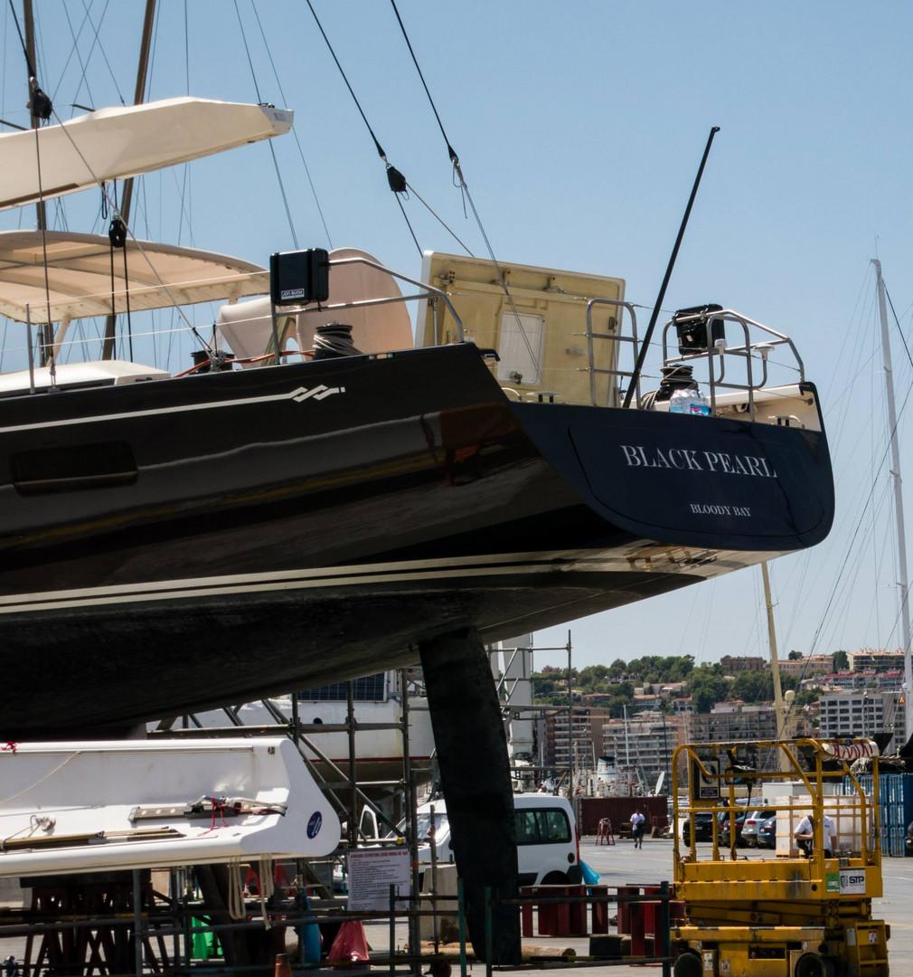 Jack Sparrows Black Pearl im Hafen von Palma