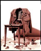 Jacke und Stuhl