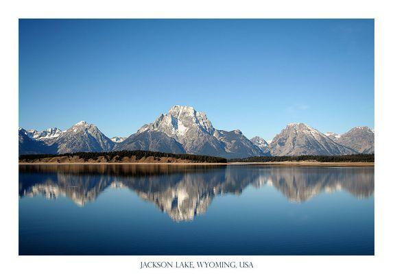 Jackson Lake, Wyoming, USA