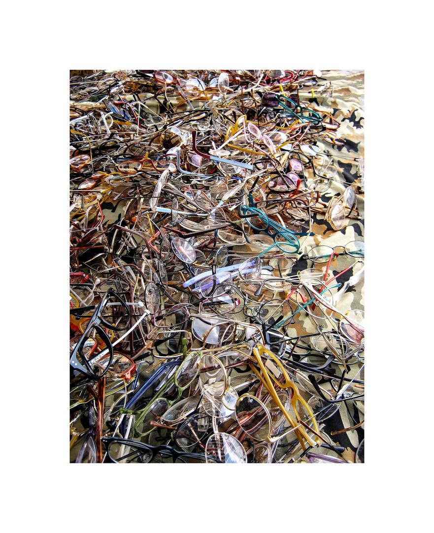 Jackson Pollock Glasses
