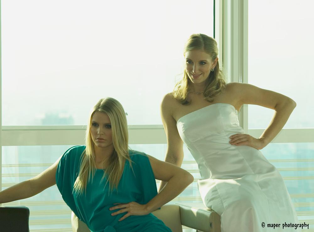 Jacquelin + Jennifer                            Fashion Workshop 12.11.2011