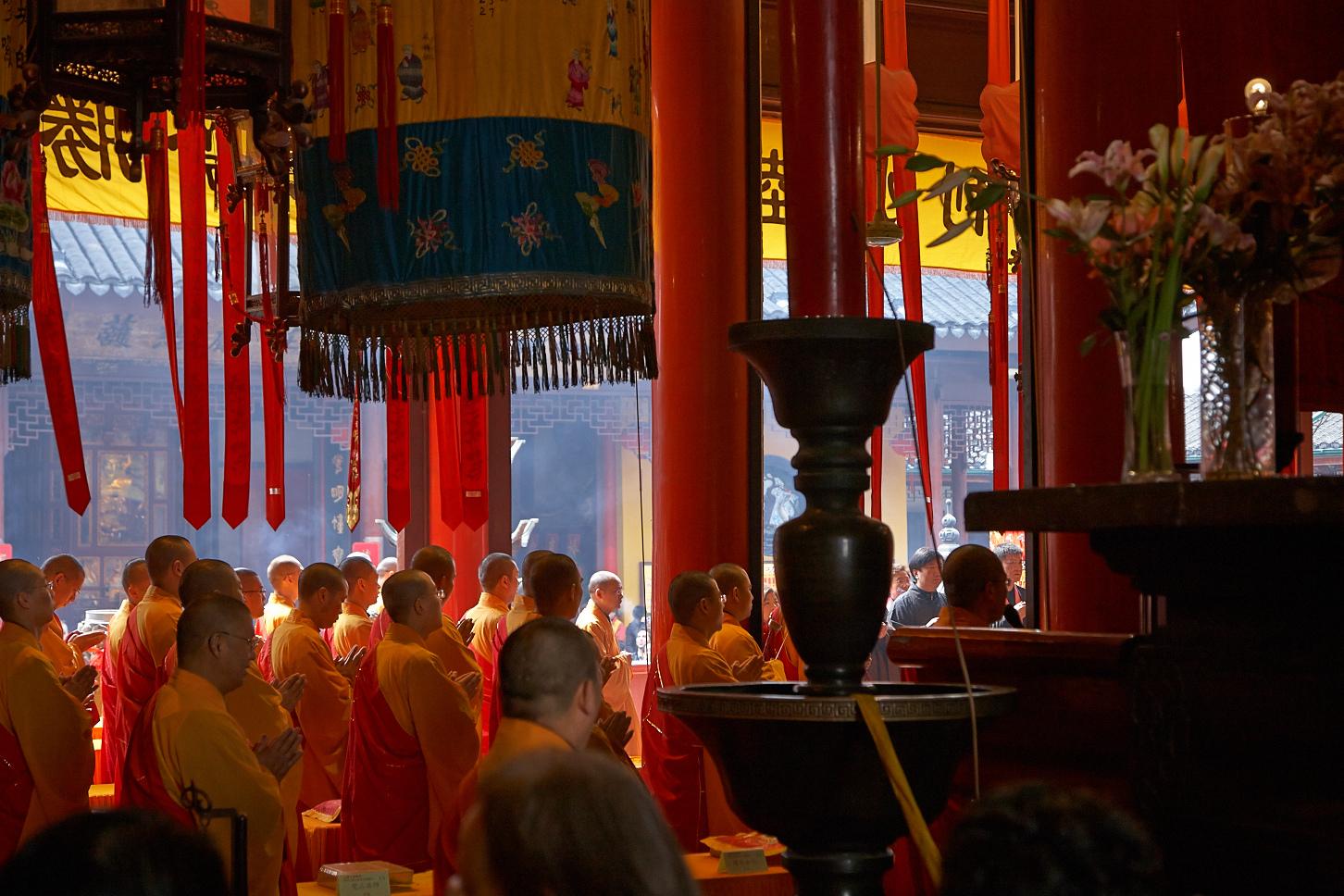 Jadebuddha-Tempel, Shanghai