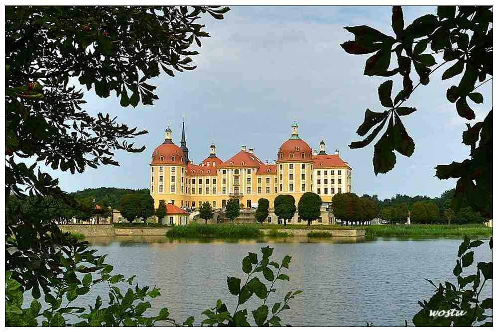 Jagdschloss Moritzburg /Sachsen