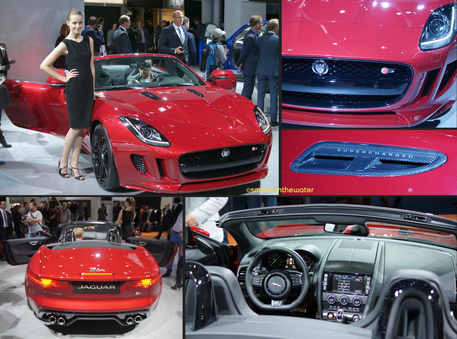 Jaguar F-Type 3.0 V6 S Roadster
