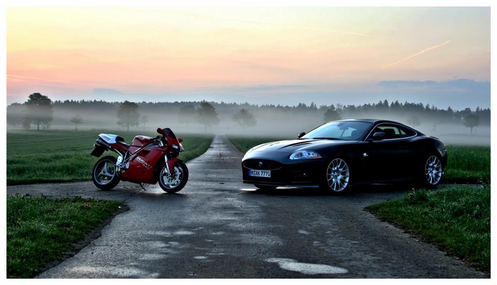 Jaguar meets Ducati