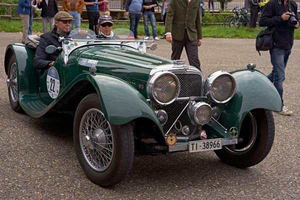 Jaguar SS 100 mit Peter