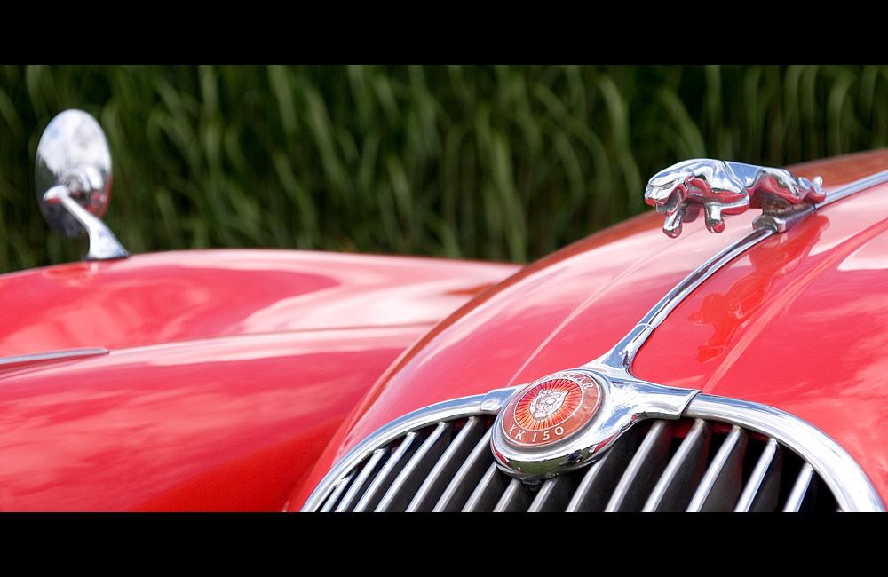 Jaguar XK 150 Detail