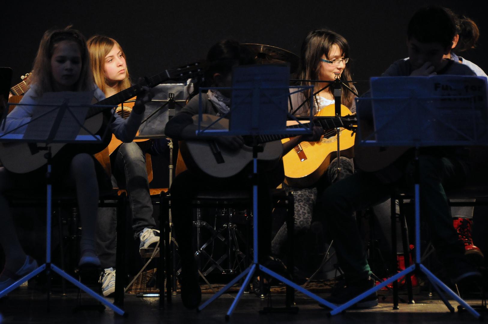 Jahreskonzert Musikschule
