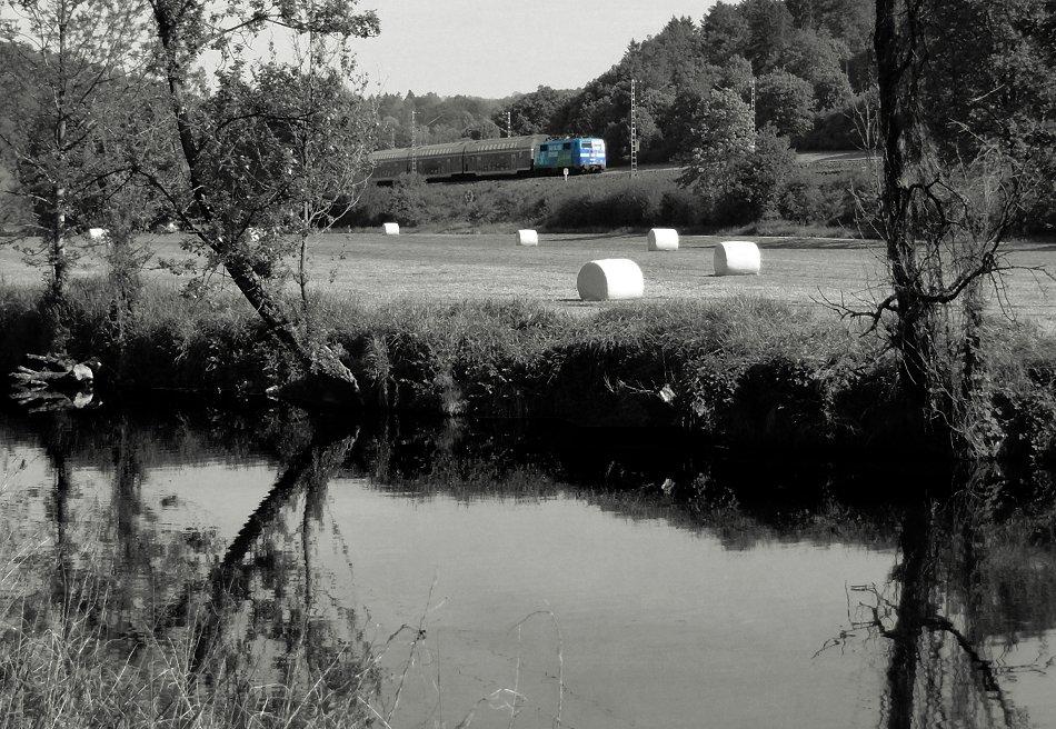 Jahresrückblick 2012 XIII - Blau ist die Ruhe am Fluss