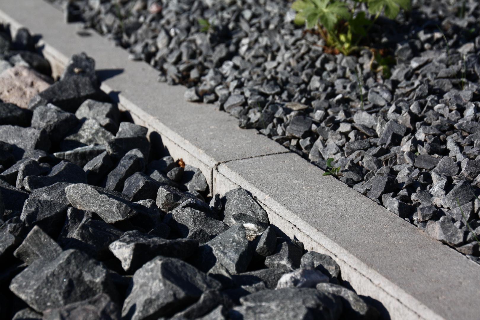 """Jahresthema: """"Spur der Steine"""" Bildtitel: """"Diagonale"""""""
